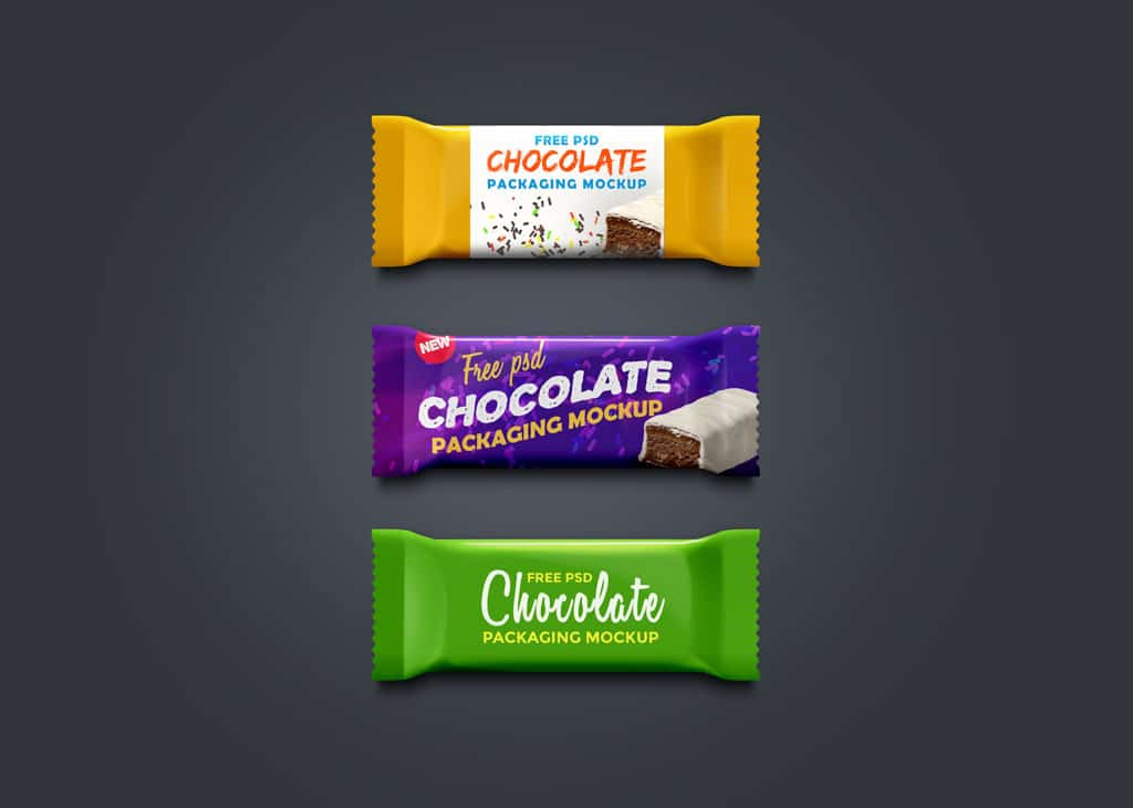 Chocolate Plus Granola Bar Packaging