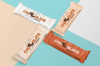 Luscious Chocolate Packaging Mockup