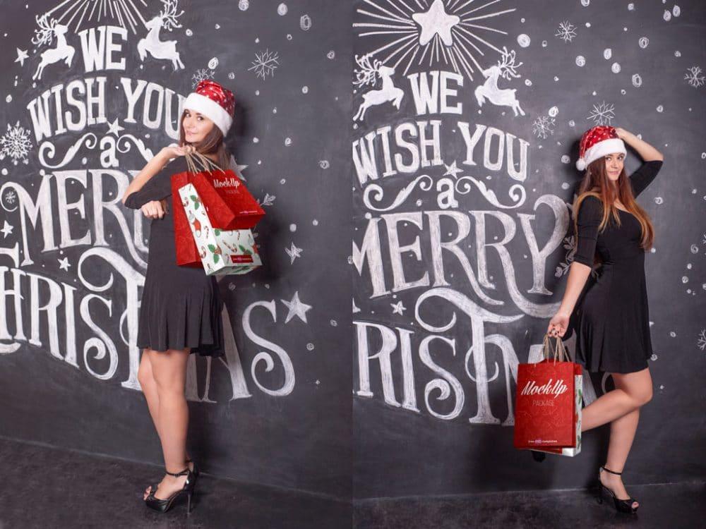 Christmas Shopping Bags