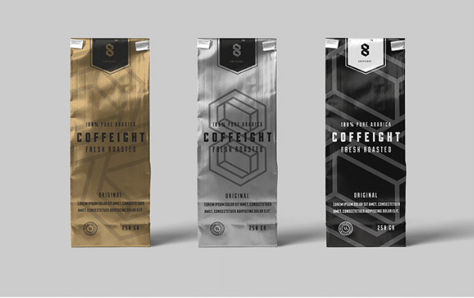 Coffee Bag PSD Mockup Free Download