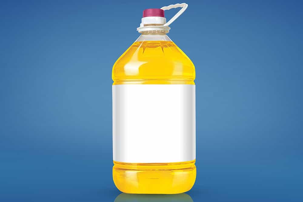 cooking oil bottle mockup