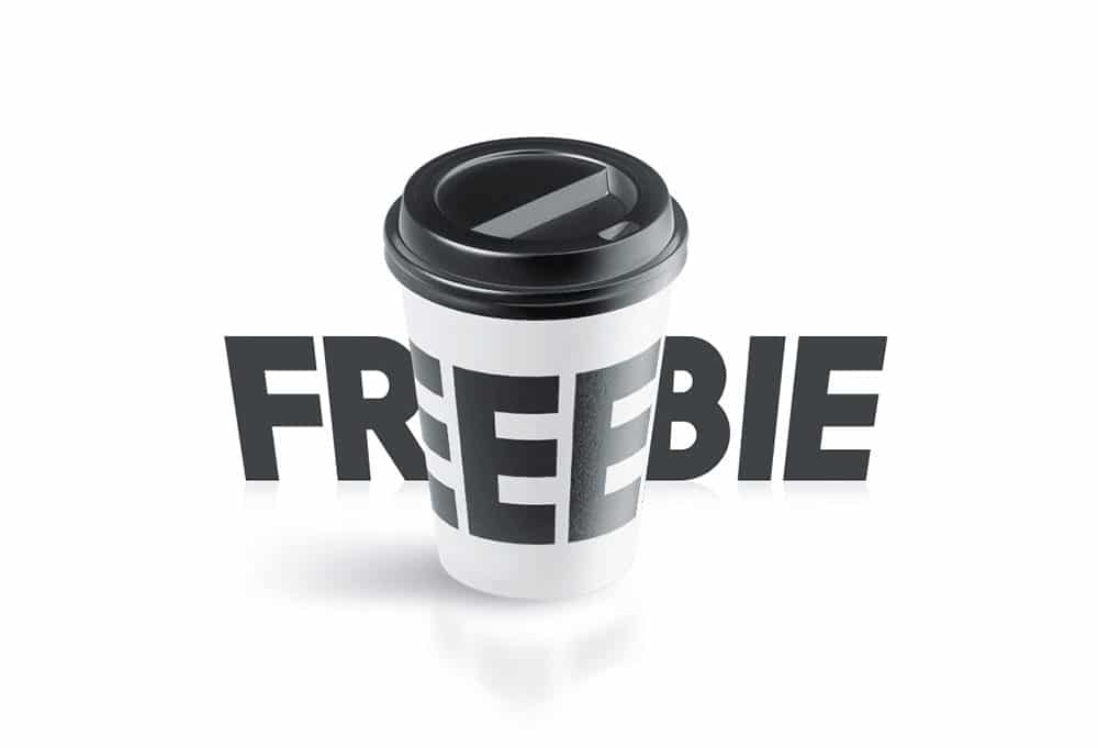 Animated Paper Coffee Cup Free Mockup