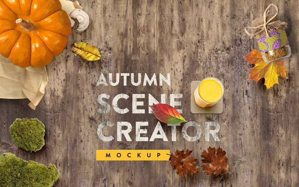Autumn Mockup Scene