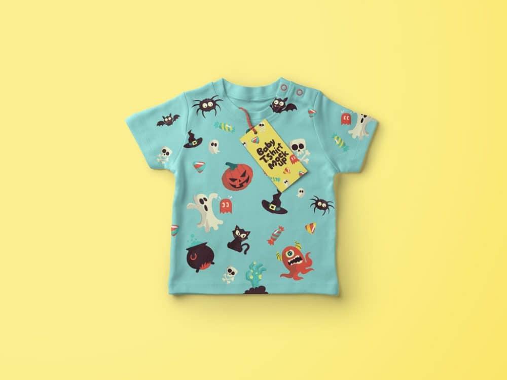 Baby Shirt Mockup