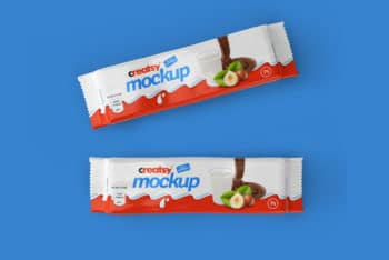 Tasty Chocolate Bar Free Mockup