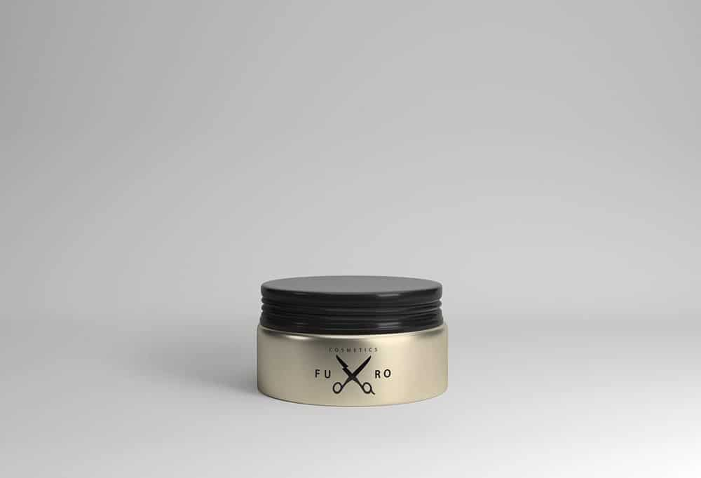 Cosmetic Tin Jar Mockup