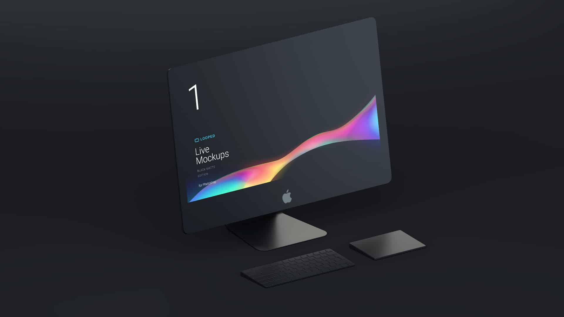 Black Matte Apple Devices