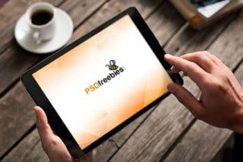 Professional Free iPad Mockup PSD Template
