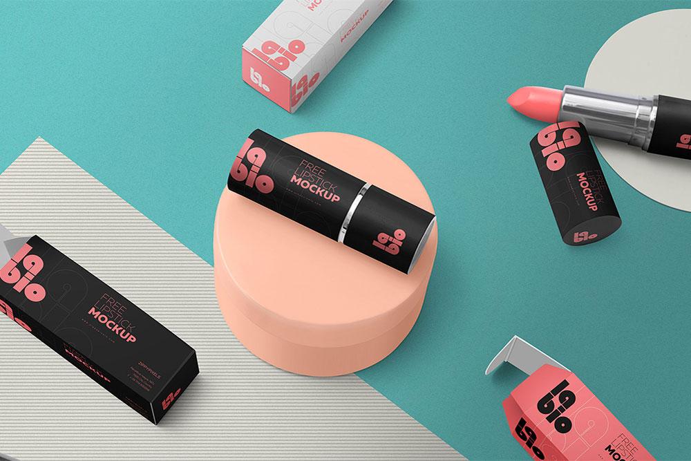 free lipstick mockup