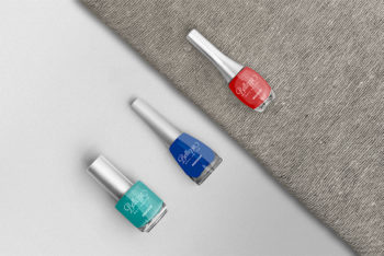 Promote Your Nail Polish Products With This Free Nail Polish Mockup