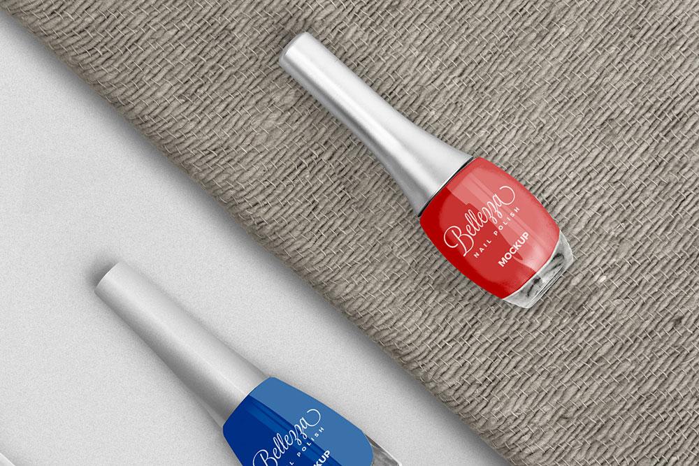 free nail polish mockup