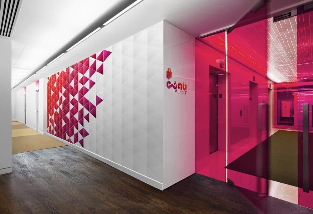 Office Floor Wall