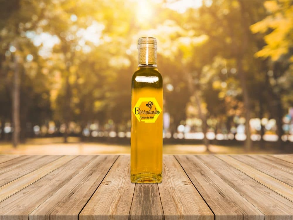 Liquor and Oil Bottle Free Mockup