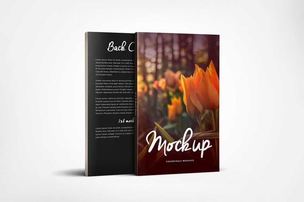 free paperback book mockup
