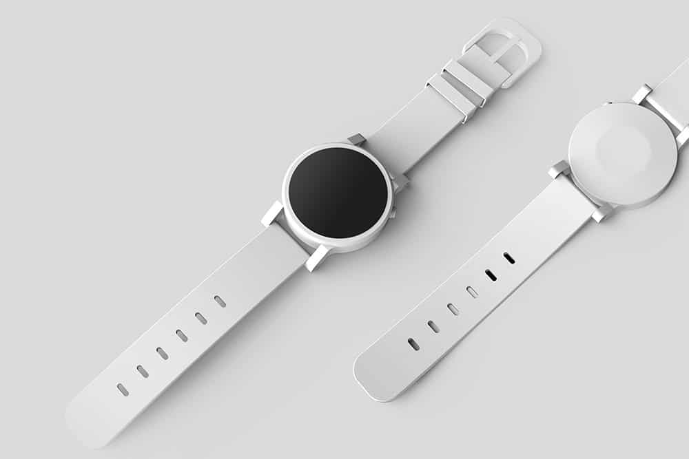 Free Smartwatch PSD Mockup