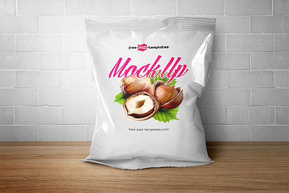 free snack pack packaging mockup
