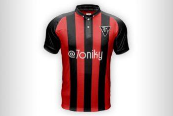 Soccer Shirt Free Mockup