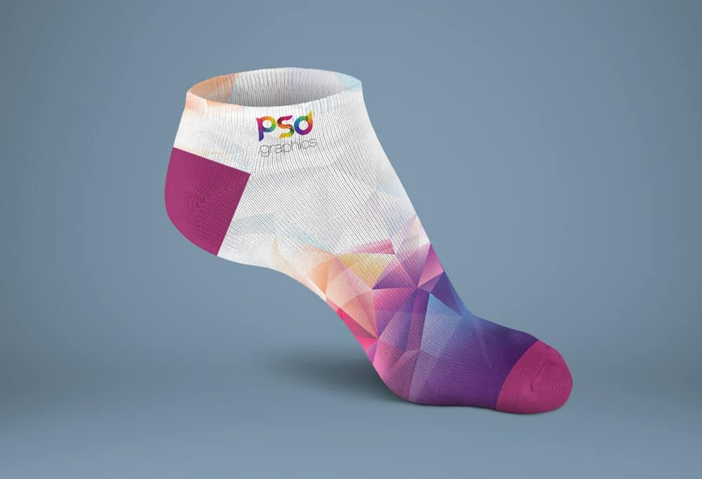 Colorful Sock Mockup