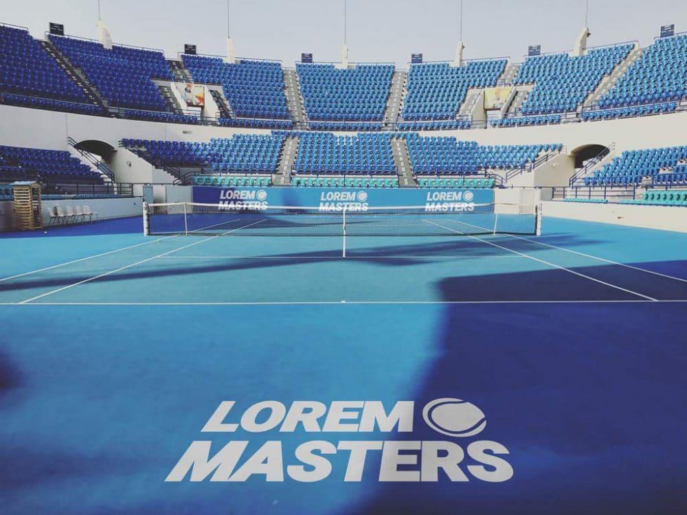 Tennis Court Branding