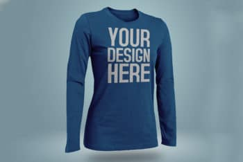 Improve Your Designing Skills with Free TShirt PSD Mockup