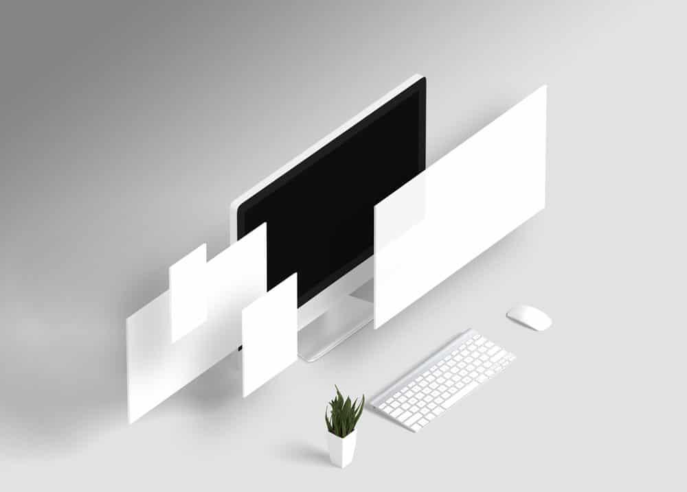 Web Presentation Mockup