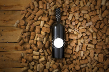 Remarkable Free Wine Bottle Mockup