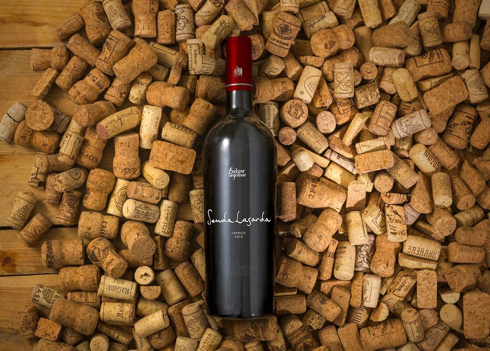 Wine Bottle Plus Corks