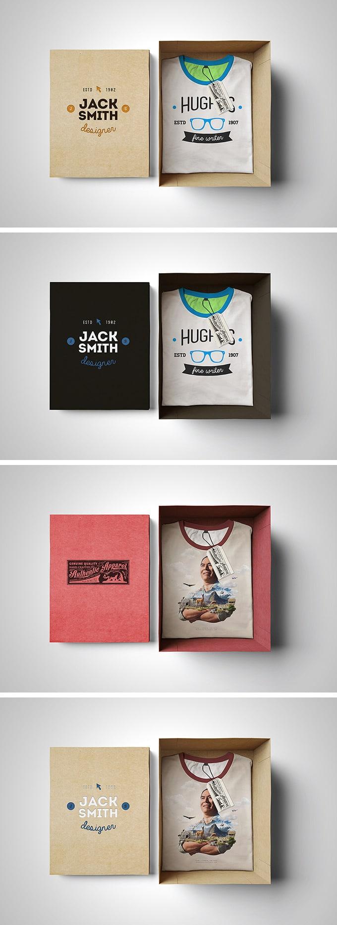 T-Shirt Box Edition Mockup