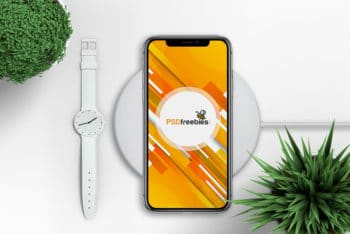 Design Your Apps With This Free Apple iPhone X PSD Mockup