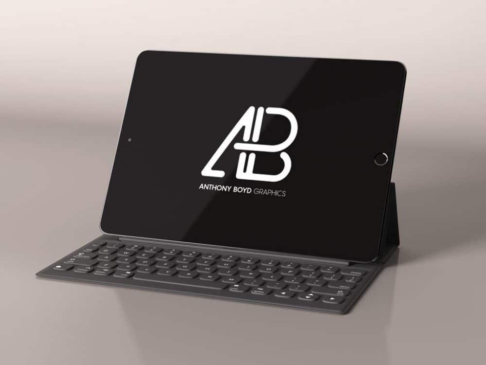 Black iPad Plus Keyboard