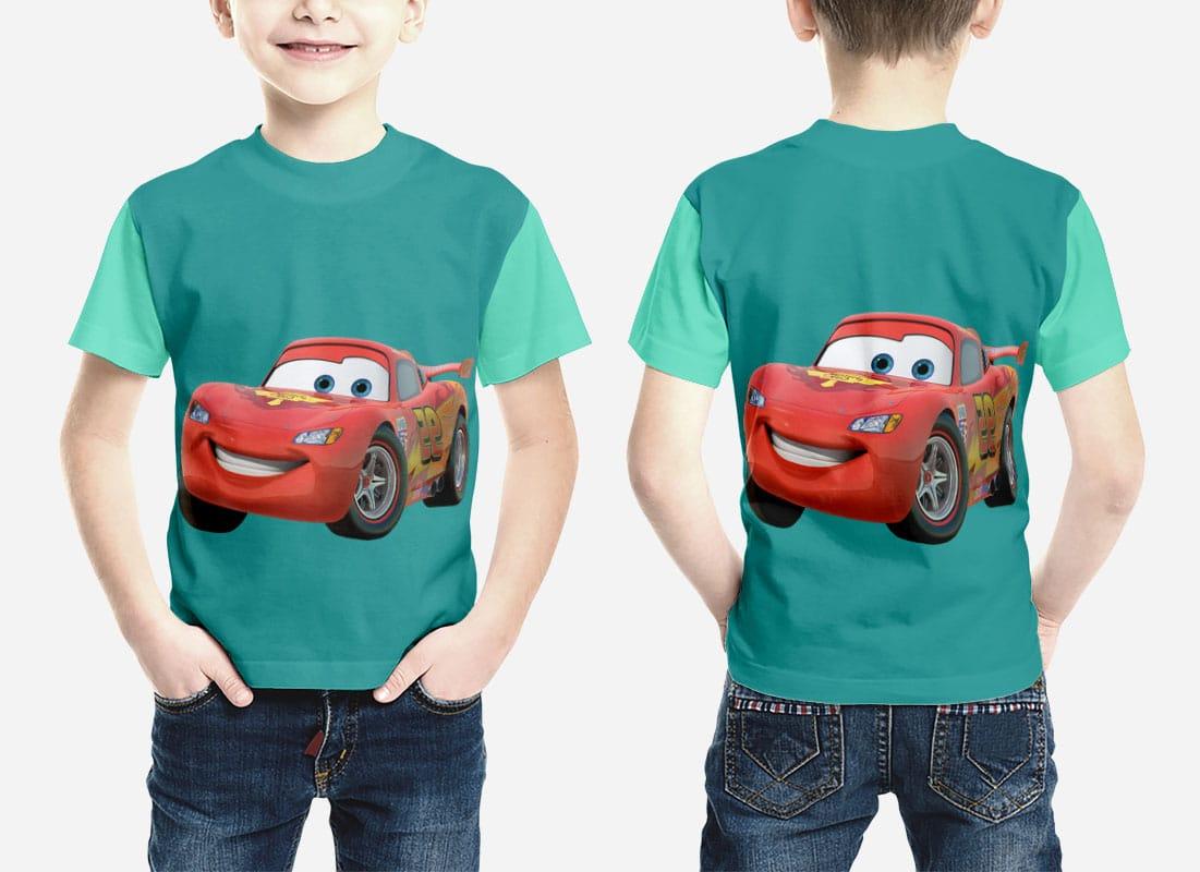 kids shirt mockup