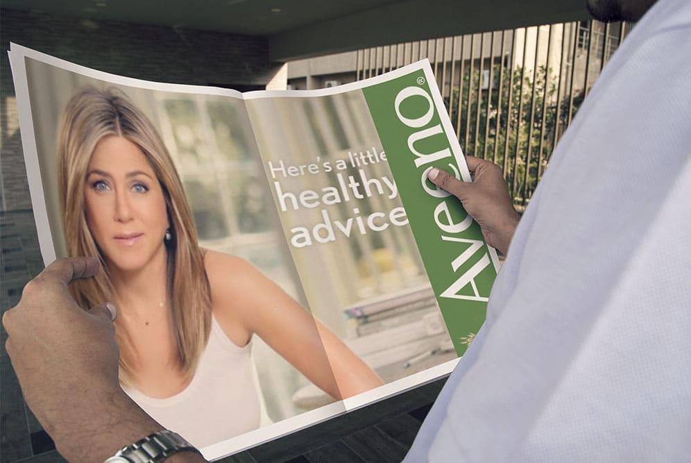 newspaper ad mockup