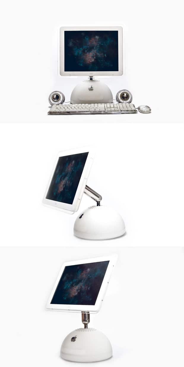 Retro iMac G4 Mockup
