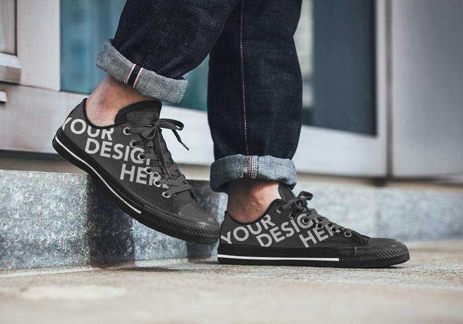 Sneaker Mockup Freebie