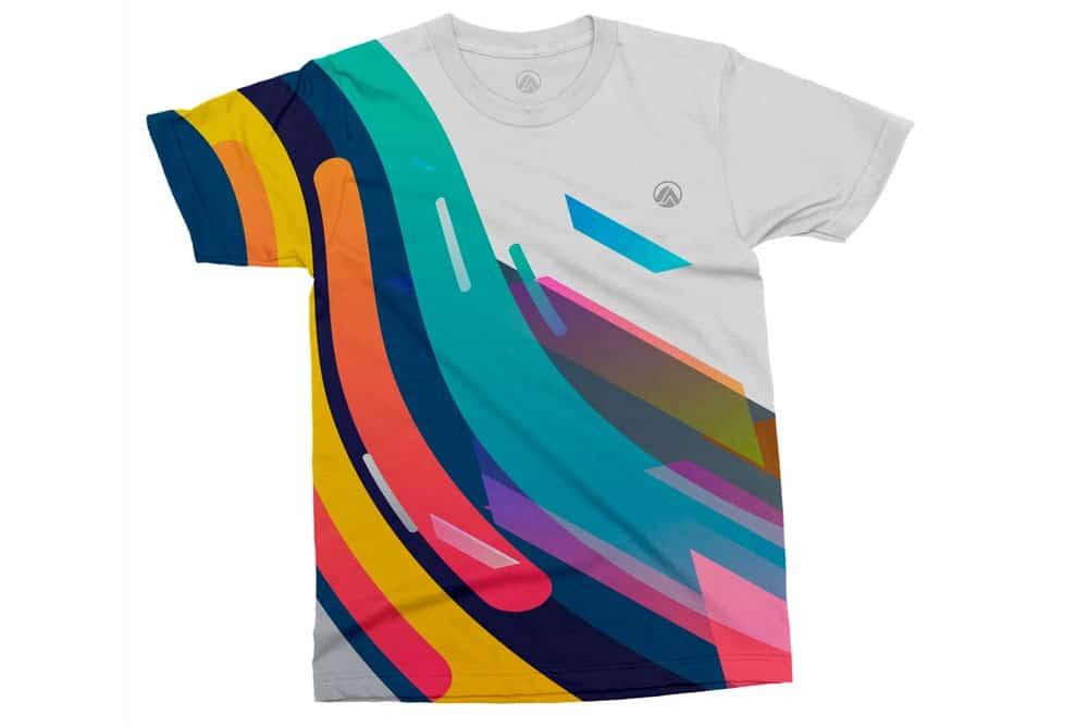 simple free tshirt mockup