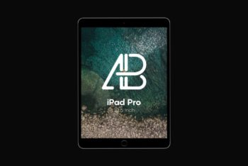 Free iPad Pro 10.5″ Mockup in PSD Format