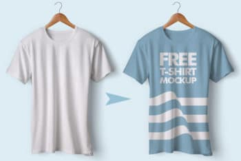 Design Your Tshirt with This Free Tshirt PSD Mockup