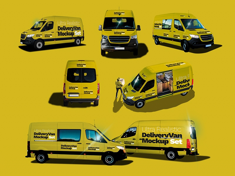Ultra Realistic Delivery Van