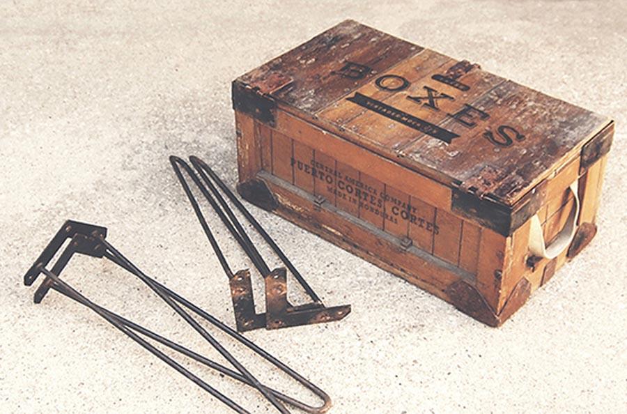 Wooden Vintage Boxes