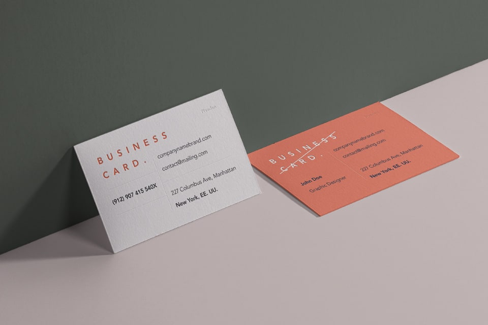 Free business card psd mockup for branding purposes designhooks free business card psd mockup to promote your corporate identity reheart Gallery
