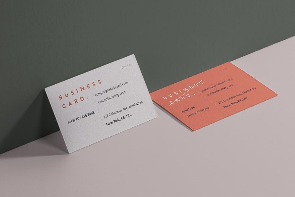 Free Business Card PSD Mockup for Branding Purposes - DesignHooks