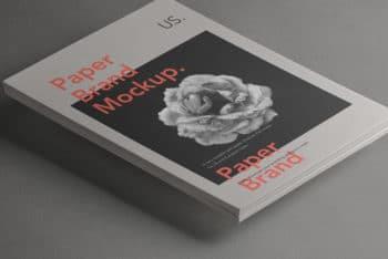 Paper Letterhead PSD Mockup for Your Branding Needs