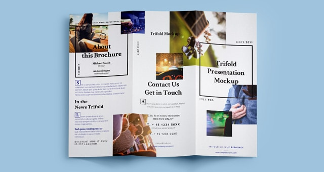 Brochure PSD Mockup Design