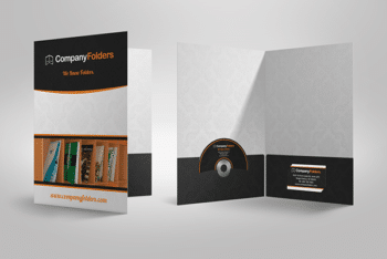 Free Presentation Folder Mockup in PSD