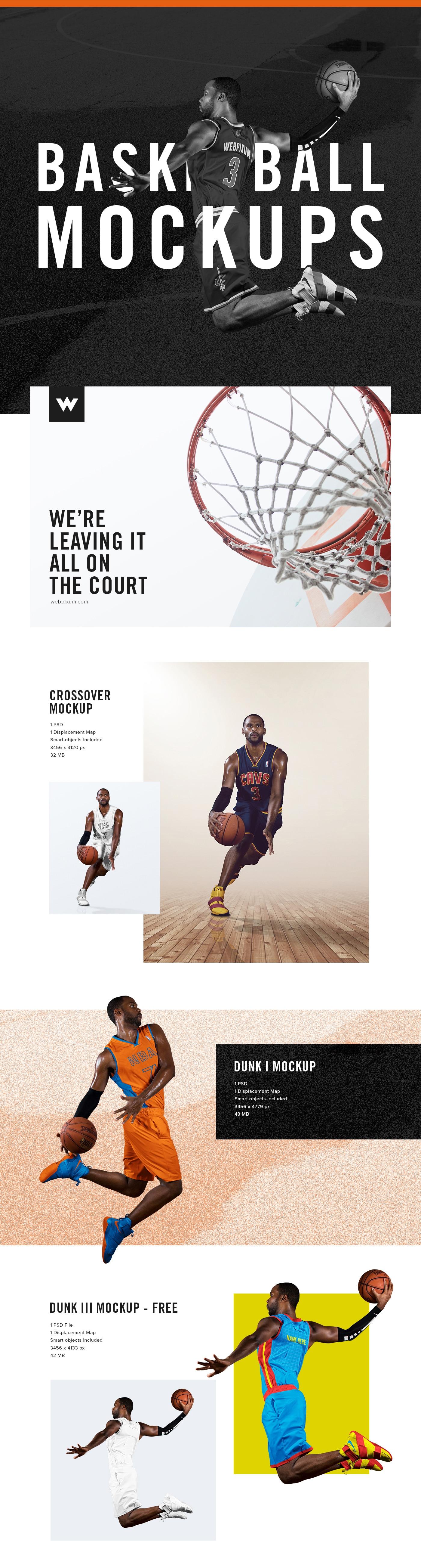 NBA Basketball Dunk