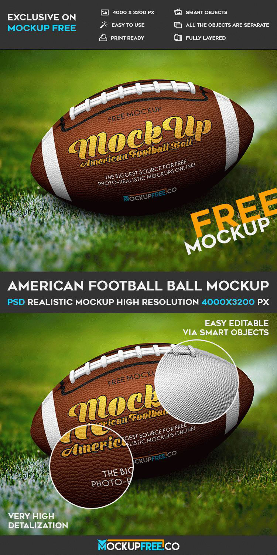 American Football Mockup