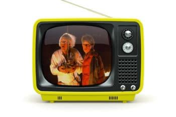 Customizable Old TV Mockup Freebie in PSD