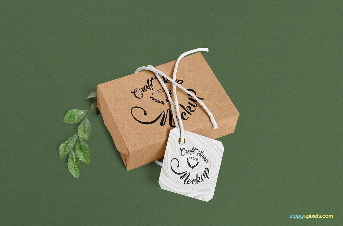 Craft Box Soap