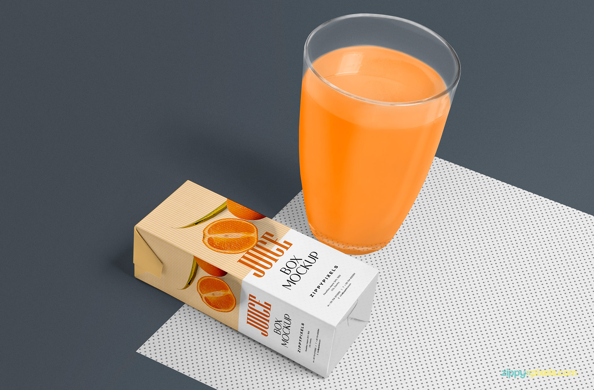 Healthy Juice Box Plus Glass