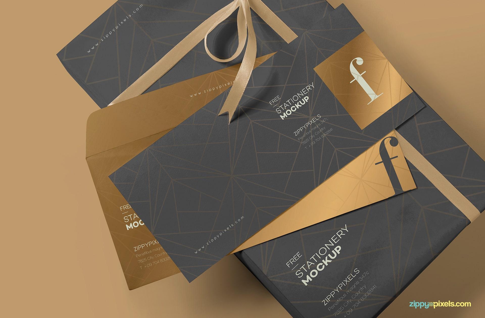 Envelope Psd Mockup Available In Wonderful Design